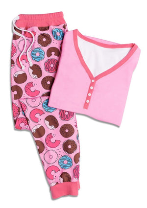 Tickle-Me-Pink Women's Pajamas