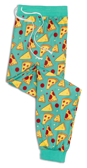 'Stealin' a Pizza Your Heart' Unisex Pajama Pants