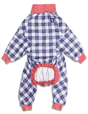 'Pretty in Plaid' Pitbull Pajamas
