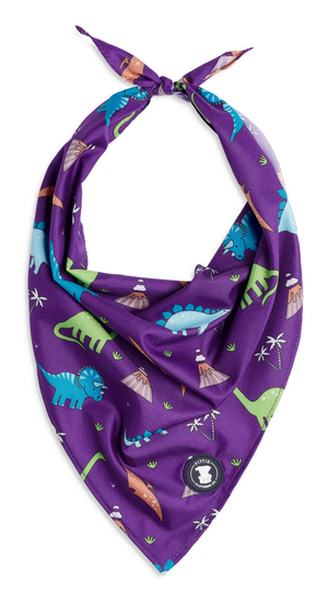 Purple Dino Bandana