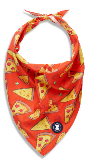 Red 'Stealin' a Pizza Your Heart' Bandana