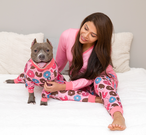 Tickle-Me-Pink Pitbull Pajamas