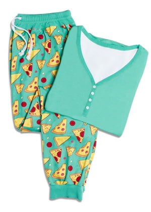 'Stealin' a Pizza Your Heart' Women's Pajama Set
