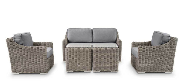 Bretton Slim Love Seat Set