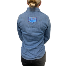 Load image into Gallery viewer, Women's Denim Shirt