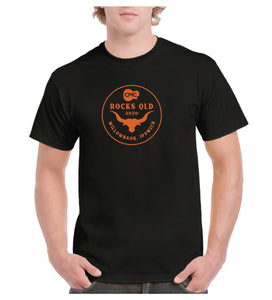 Men's Bull Circle T-Shirt - Black