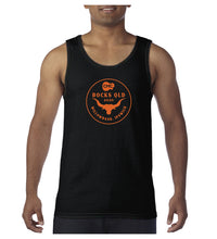 Load image into Gallery viewer, Men's Bull Circle Singlet - Black