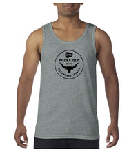 Load image into Gallery viewer, Men's Bull Circle Singlet - Grey Marle