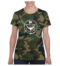 Load image into Gallery viewer, Women's Bull Rope Shirt - Camo