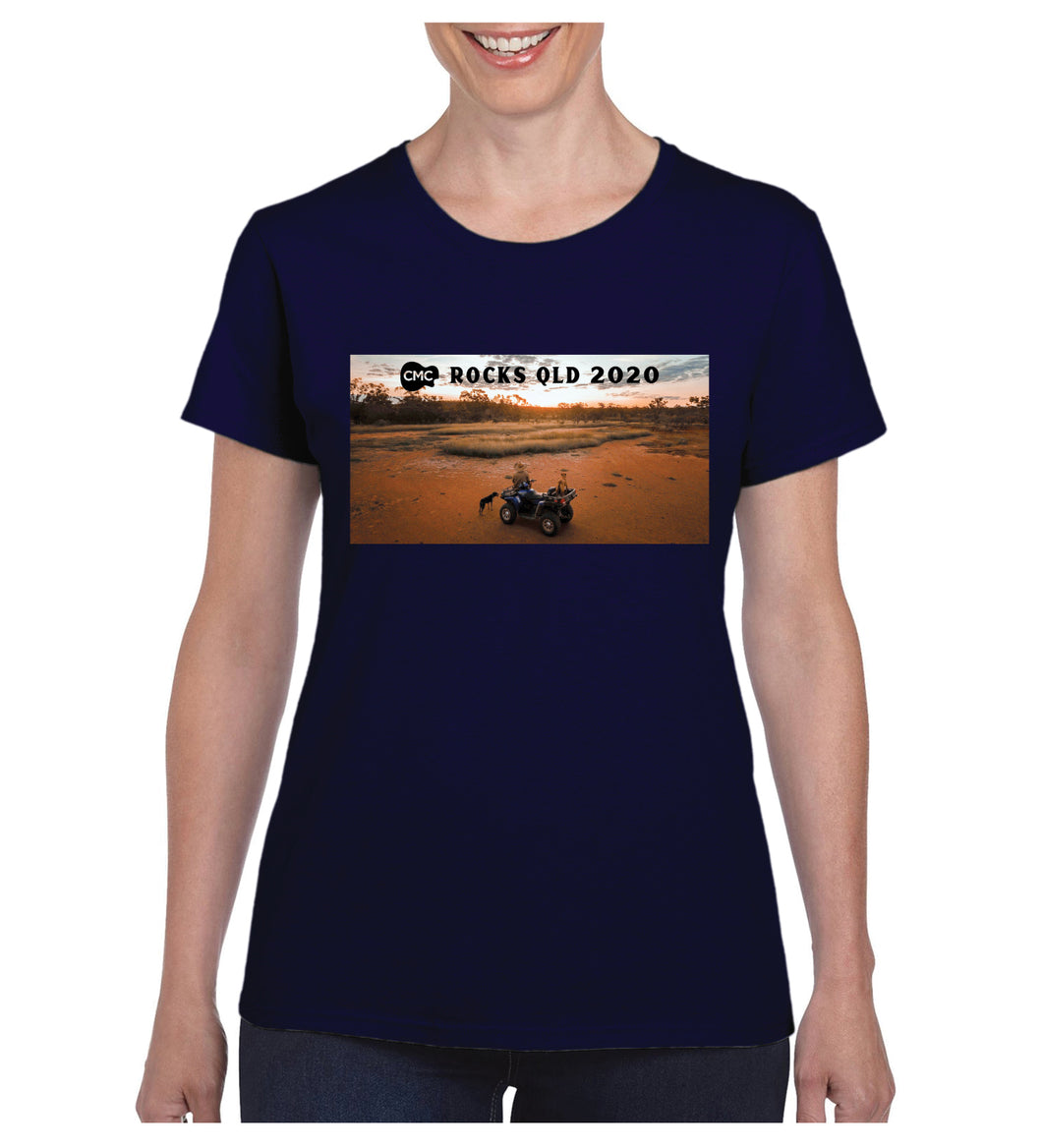 Women's Sunset Photo Shirt