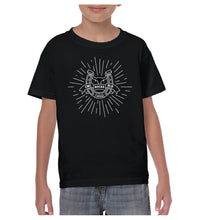 Load image into Gallery viewer, Youth Bull Starburst Shirt - Black