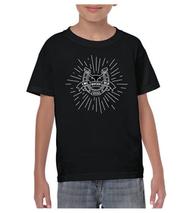 Youth Bull Starburst Shirt - Black