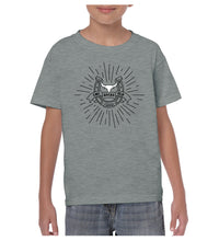 Load image into Gallery viewer, Youth Bull Starburst Shirt - Grey Marle