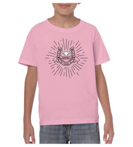 Youth Bull Starburst Shirt - Pink