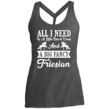 Black Dress Friesian Ladies' Cosmic Twist Back Tank
