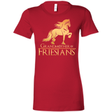 Grandmother Of Friesians  Ladies' Favorite T-Shirt