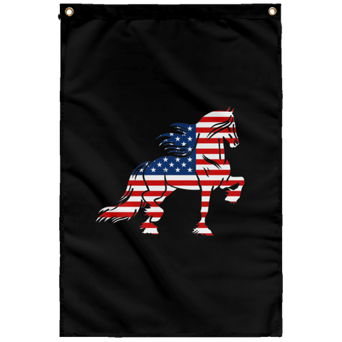 Friesian Flag  Sublimated Wall Flag