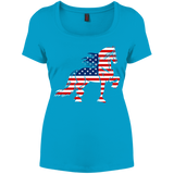 Friesian Flag Perfect Scoop Neck Tee
