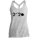 2020 Covid  Ladies' Cosmic Twist Back Tank