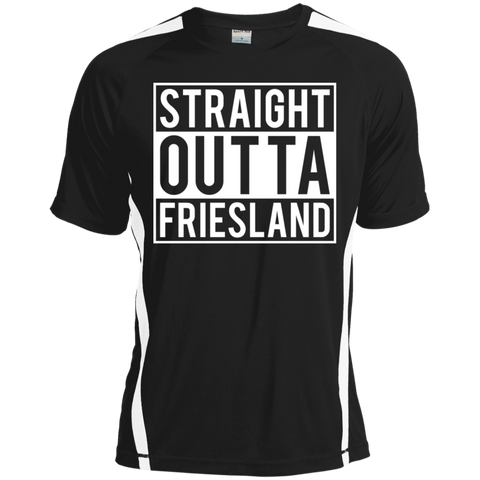 Straight Outta Friesland Colorblock Dry Zone Crew