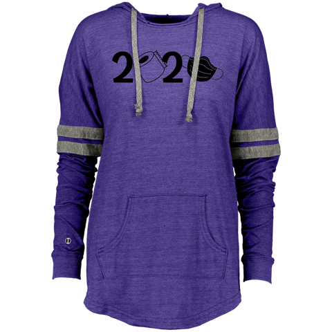 2020 Covid Ladies Hooded Low Key Pullover
