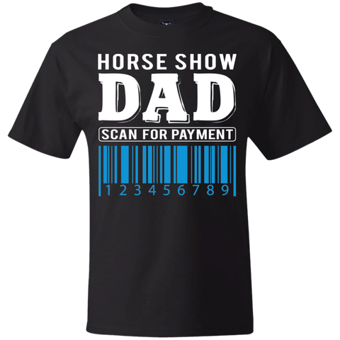 Horse Show Dad Beefy T-Shirt