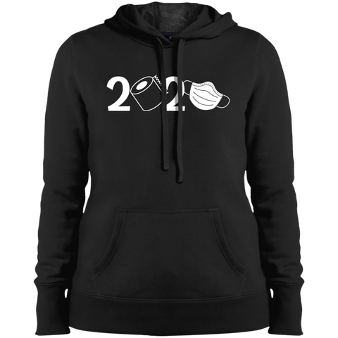 2020 Covid Ladies' Pullover Hooded Sweatshirt