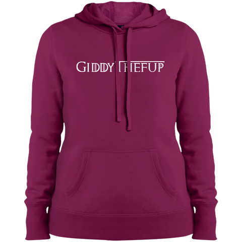 GiddyTheFUp  Ladies' Pullover Hooded Sweatshirt