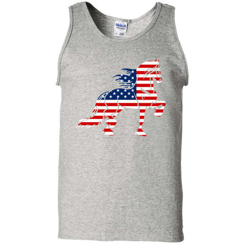 Friesian Flag 100% Cotton Tank Top