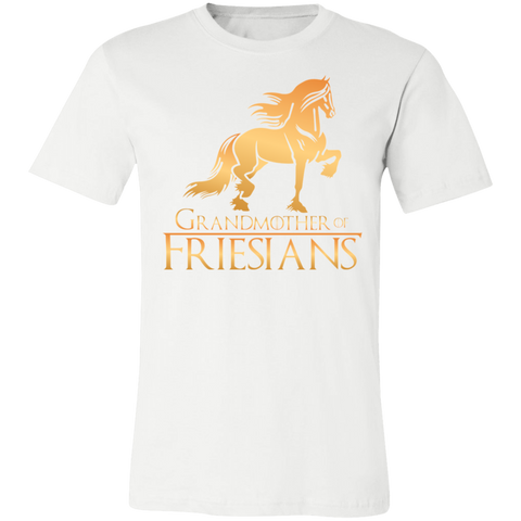 Grandmother Of Friesians Unisex Jersey Short-Sleeve T-Shirt