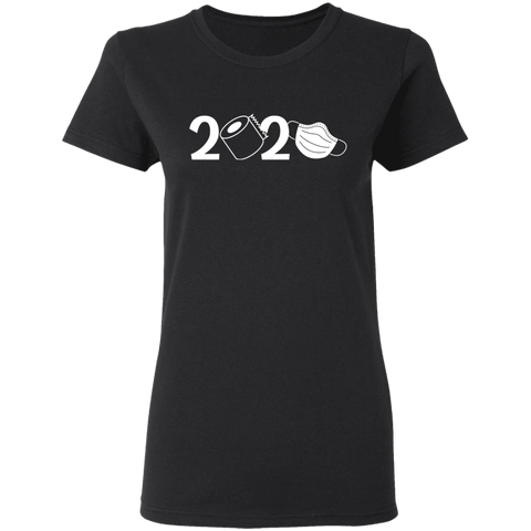 2020 Covid Ladies' 5.3 oz. T-Shirt
