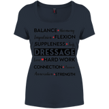 Dressage Women's Perfect Scoop Neck Tee