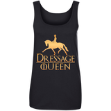 Dressage Queen Ladies' 100% Ringspun Cotton Tank Top