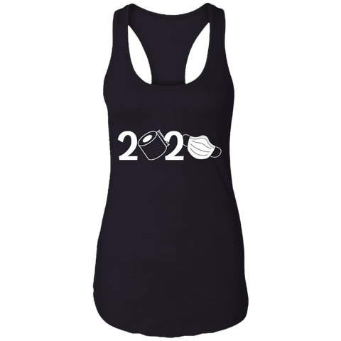 2020 Covid Ladies Ideal Racerback Tank