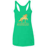 Grandmother Of Friesians Ladies' Triblend Racerback Tank