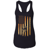 Flag Horse Ladies Ideal Racerback Tank