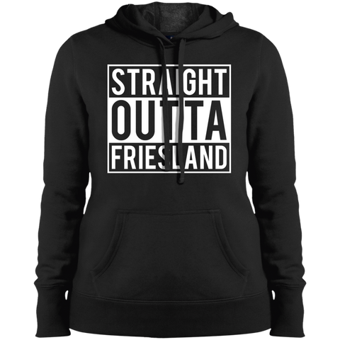 Straight Outta Friesland Ladies' Pullover Hooded Sweatshirt