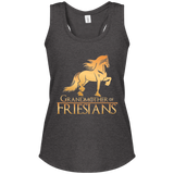 Grandmother Of Friesians Women's Perfect Tri Racerback Tank