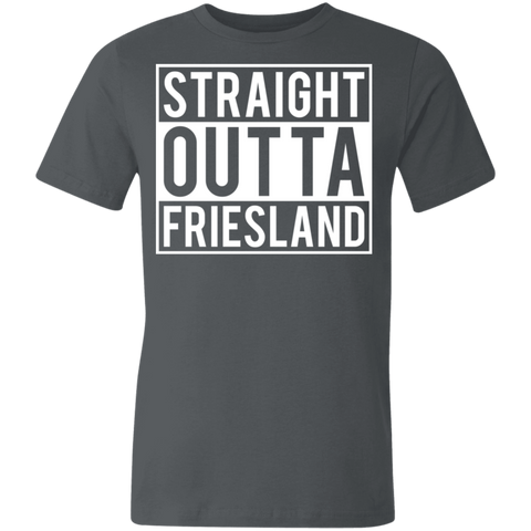 Straight Outta Friesland Unisex Made in the USA Jersey Short-Sleeve T-Shirt