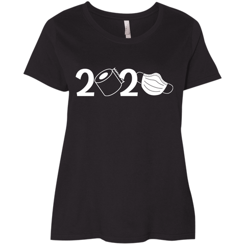 2020 Covid  Ladies' Curvy T-Shirt