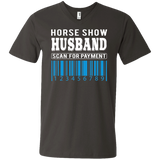 Horse Show Husband  Men's Printed V-Neck T-Shirt