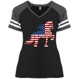 Friesian Flag Game V-Neck T-Shirt