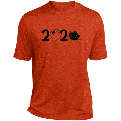 2020 Covid  Heather Dri-Fit Moisture-Wicking T-Shirt