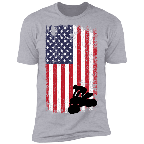 Flag ATV Premium Short Sleeve T-Shirt