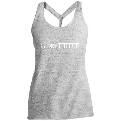 GiddytheFup Ladies' Cosmic Twist Back Tank