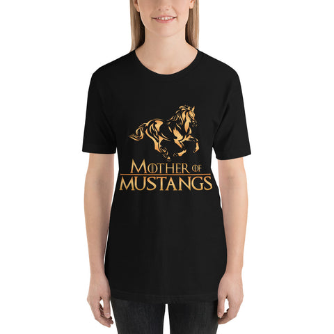 Mother Of Mustangs Short-Sleeve Unisex T-Shirt