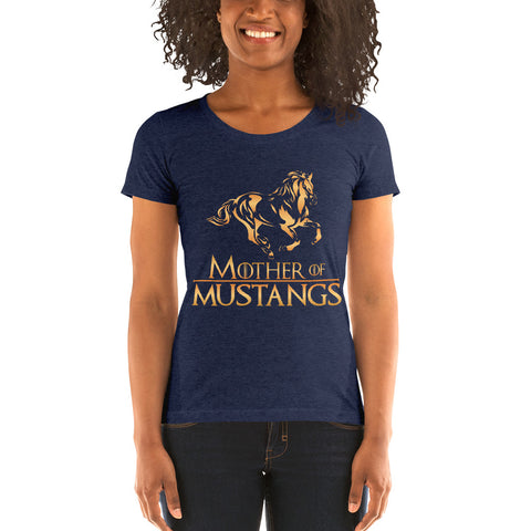 Mother Of Mustangs  Ladies' short sleeve t-shirt