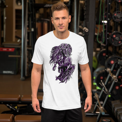 Fire & Ice Friesian Short-Sleeve Unisex T-Shirt