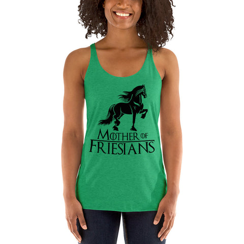 Mother Of Friesians Women's Racerback Tank