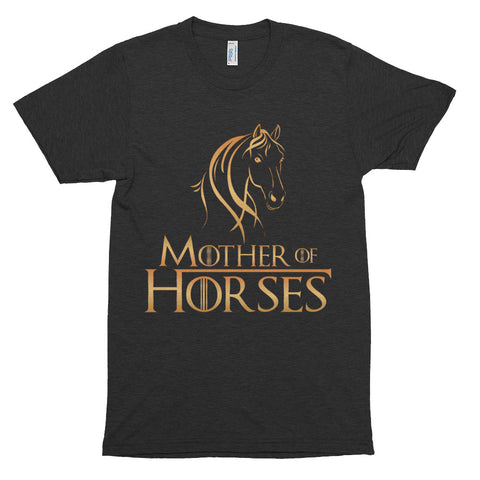 Mother Of Horses Short sleeve soft t-shirt